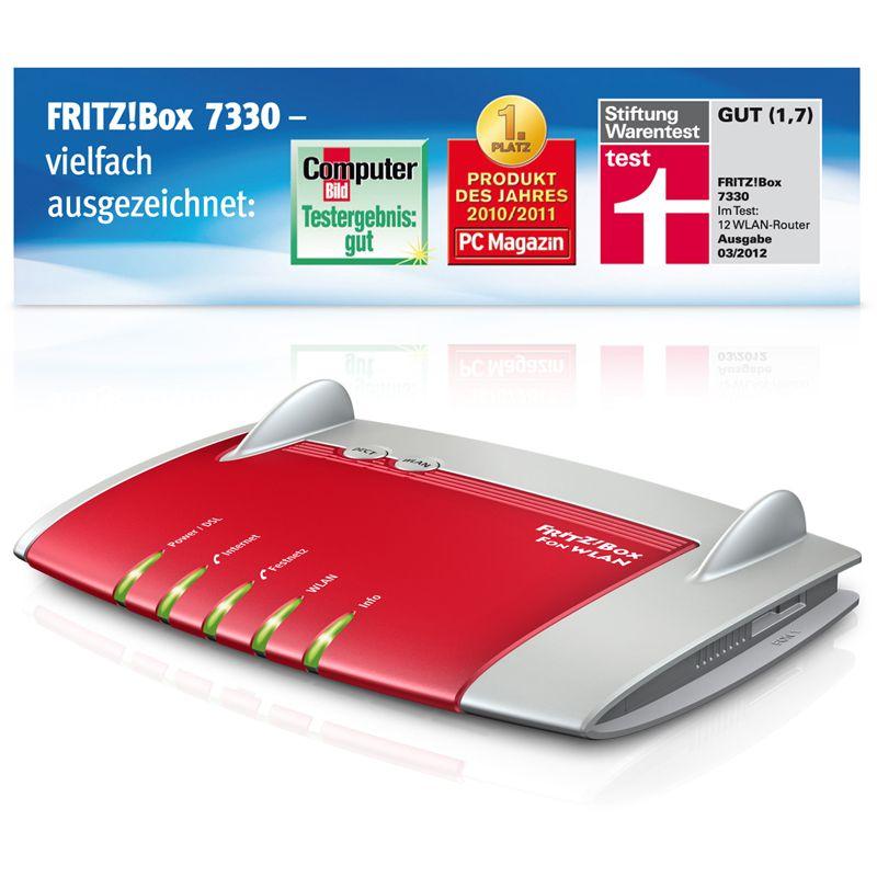 Avm fritz box 7330 voip wireless router modem 20002510 - Fritzbox 7330 login ...