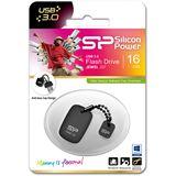 16 GB Silicon Power Jewel J07 grau USB 3.0