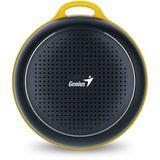 Genius SP-906 BT mobile Bluetooth 4.1 Lautsprecher und Freisprecheinrichtung, 3 Watt Total RMS schwarz