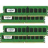 32GB Crucial CT4K8G4RFS4213 DDR4-2133 regECC DIMM CL15 Quad Kit