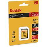 128 GB Kodak EKMSD128GXC10HPRK SDHC Class 10 U3 Retail