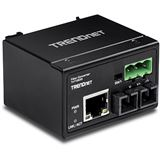 TrendNet Konverter 100Base-FX Industrial Single M. SC 30KM IP 30