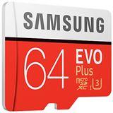 64 GB Samsung EVO Plus microSDXC Class 10 U3 Retail inkl. Adapter auf SD