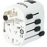 Dicota World Adapter PRO&USB Reiseadapter
