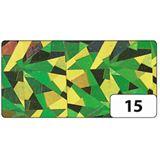 folia Holografie-Klebefolie, 400 mm x 5 m, Magic grün