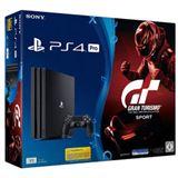 Sony PlayStation 4 Pro - 1TB, GT Sport Bundle schwarz