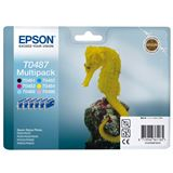 Epson Tinte C13T04874010 schwarz, cyan, magenta, gelb, cyan hell, magenta hell