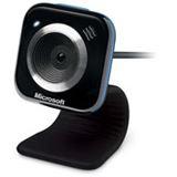 Microsoft Web Kamera LifeCam VX-5000 0.3 MPixel 640x480 Schwarz/Blau USB 2.0