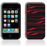 F8Z354EA Belkin iPhone 3G silicon schwarz/rot