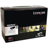 Lexmark Toner 0012A7644 Schwarz
