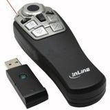 InLine Funk Presenter LR12R 2.4 GHz schwarz