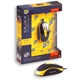 CHERRY JM-C0100 MUXX Corded Optical Children Mouse USB schwarz/gelb (kabelgebunden)