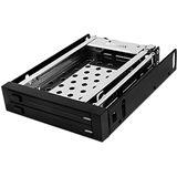 """RaidSonic ICY BOX IB-2226StS 3,5"""" Wechselrahmen für 2x 2.5"""" Festplatten (IB-2226StS)"""