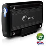 """2000GB Fantec LD-H35U3 23333 3.5"""" (8.9cm) USB 3.0 schwarz"""