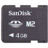 4 GB SanDisk M2 Gaming Memory Stick Micro Retail