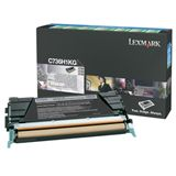 Lexmark Toner C736H1KG Schwarz