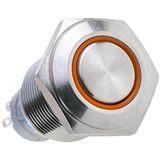 LAMPTRON Silverline oranger Vandalismusschalter für Gehäuse (LAMP-SW1616L-S)