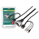 Digitus DS-11802-1 2-fach Kabel KVM-Switch