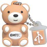 2 GB EMTEC Animals M311 Teddy braun USB 2.0