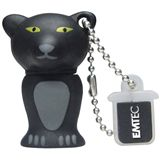 2 GB EMTEC Animals M313 Panther schwarz USB 2.0