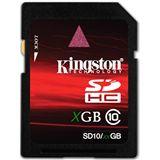 8GB Kingston SD10/8GB Secure Digital SDHC Karte