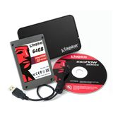 "64GB Kingston V Series 2.5"" (6.4cm) SATA 3Gb/s MLC asynchron (SV100S2N/64G)"