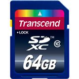 64 GB Transcend Extreme-Speed SDXC Class 10 Retail