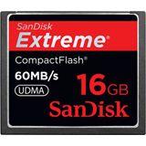 16 GB SanDisk Extreme Compact Flash TypI 400x Bulk