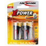 ANSMANN X-Power C / Baby Alkaline 1.5 V 2er Pack