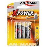 ANSMANN X-Power LR03 Alkaline AAA Micro Batterie 1.5 V 4er Pack