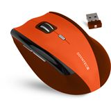 Soyntec Maus INPPUTÂ R520Â ORANGE, Funk, optisch, USB