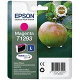 Epson T1293 Tintenpatrone magenta hohe Kapazität 7ml 1er-Pack DURABrite Ultra Ink Retail Pack (untagged) RF Tag