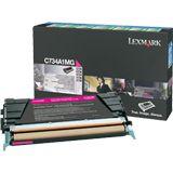 Lexmark Toner C734A1MG Magenta