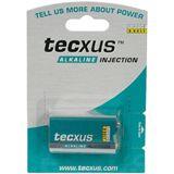 Tecxus® Batterie Alkali 9-Volt Block , 1er Folie