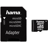 8 GB Hama High Speed microSDHC Class 4 Retail inkl. Adapter