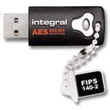 32 GB Integral Memory crypto Drive 140 schwarz USB 2.0