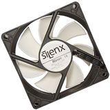 SilenX Effizio Thermistor Fan Series 80x80x25mm 1700 U/min 15 dB(A) schwarz/weiß