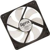 SilenX Effizio Thermistor Fan Series 120x120x25mm 1400 U/min 15 dB(A) schwarz/weiß