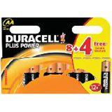 Duracell Plus Power AA / Mignon Alkaline 1.5 V 12er Pack