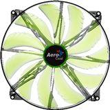 AeroCool Silent Master 200x200x20mm 800 U/min 18 dB(A) schwarz/grün