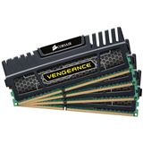 32GB Corsair Vengeance schwarz DDR3-1600 DIMM CL9 Quad Kit