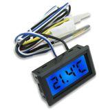 XSPC LCD Temperatursensor - blau