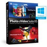 Corel Photo & Video X5 32/64 Bit Deutsch Grafik FPP PC (DVD)
