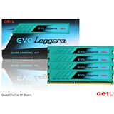 32GB GeIL EVO Leggera DDR3-1600 DIMM CL10 Quad Kit
