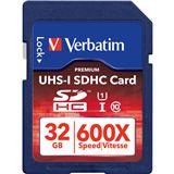 32 GB Verbatim SDHC Class 10 Bulk