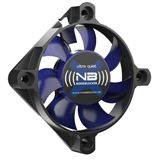Noiseblocker NB-BlackSilentFan XS1 50x50x10mm 3000 U/min 16.3 dB(A) schwarz