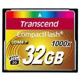 32 GB Transcend Compact Flash TypI 1000x Retail