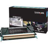Lexmark Return Program Toner X746H1KG schwarz