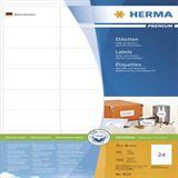 Herma 4633 Premium Universal-Etiketten 7.0x3.6 cm (200 Blatt (4800 Etiketten))