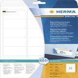 Herma 5074 Adressetiketten 6.35x3.81 cm (25 Blatt (525 Etiketten))
